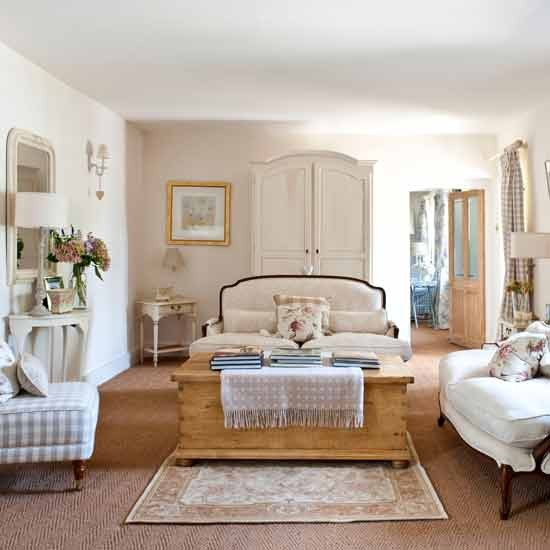 Inside A Country Cottage In